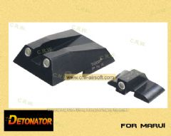 Detonator Trijicon steel night sight for Marui Hk45 Gbb ST-TM16